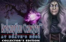 Redemption Cemetery: At Death's Door Collector's Edition Badge