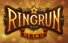 Ring Run Circus Badge