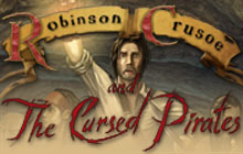 Robinson Crusoe and the Cursed Pirates Badge