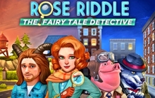 Rose Riddle: The Fairy Tale Detective Badge