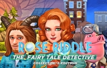 Rose Riddle: The Fairy Tale Detective Collector's Edition Badge