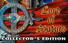 Royal Detective: The Lord of Statues Collector's Edition Badge