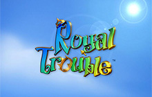 Royal Trouble Badge