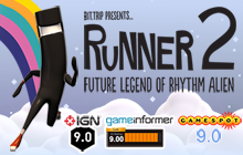 BIT.TRIP Presents... Runner2: Future Legend of Rhythm Alien Badge