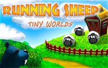 Running Sheep: Tiny Worlds Badge