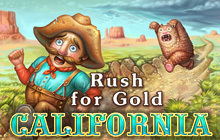 Rush for Gold: California Badge