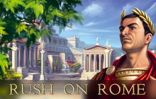 Rush on Rome Badge