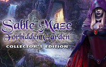 Sable Maze: Forbidden Garden Collector's Edition Badge
