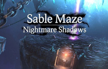 Sable Maze: Nightmare Shadows Badge