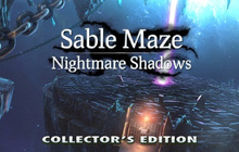 Sable Maze: Nightmare Shadows Collector's Edition Badge