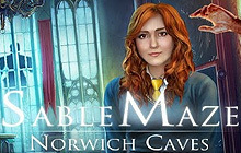 Sable Maze: Norwich Caves Badge