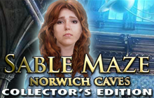 Sable Maze: Norwich Caves Collector's Edition Badge