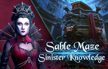 Sable Maze: Sinister Knowledge Badge