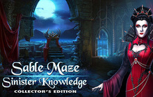 Sable Maze: Sinister Knowledge Collector's Edition Badge