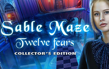 Sable Maze: Twelve Fears Collector's Edition Badge