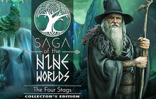 Saga of the Nine Worlds: The Four Stags Collector's Edition Badge