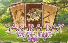 Sakura Day Mahjong Badge