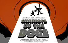 Sam & Max 204 - Chariots of the Dogs Badge