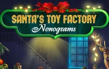 Santas Toy Factory Nonograms Badge