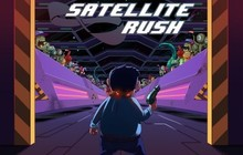 Satellite Rush Badge