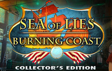 Sea of Lies: Burning Coast Collector's Edition Badge