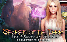Secrets of the Dark: The Flower of Shadow Collector's Edition Badge