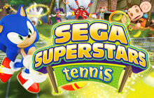 SEGA Superstars Tennis Badge