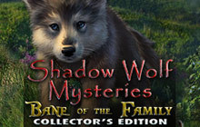 Shadow Wolf Mysteries: Bane of the Family Collector's Edition Badge