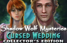 Shadow Wolf Mysteries: Cursed Wedding Collector's Edition Badge