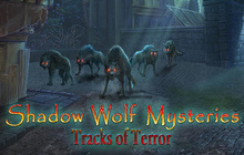 Shadow Wolf Mysteries: Tracks of Terror Badge