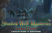 Shadow Wolf Mysteries: Tracks of Terror Collector's Edition Badge