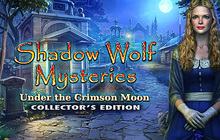 Shadow Wolf Mysteries: Under the Crimson Moon Collector's Edition Badge