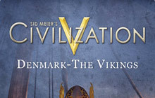 Sid Meier's Civilization V: Denmark & The Vikings Badge