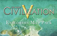Sid Meier's Civilization V: Explorer's Map Pack Badge
