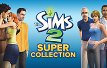 The Sims 2 Super Collection Badge