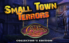 Small Town Terrors: Galdor's Bluff Collector's Edition Badge