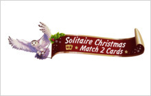 Solitaire Christmas Match 2 Cards Badge