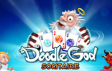 Solitaire Doodle God Badge