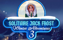 Solitaire Jack Frost Winter Adventures 3 Badge