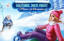 Solitaire Jack Frost Winter Adventures Badge