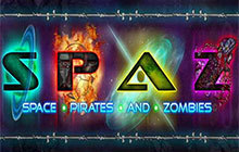 Space Pirates And Zombies Badge
