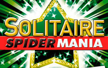 Spider Mania Solitaire Badge