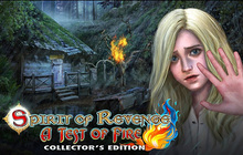 Spirit of Revenge: A Test of Fire Collector's Edition Badge