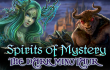 Spirits of Mystery: The Dark Minotaur Badge