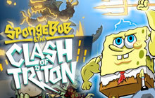 SpongeBob and The Clash of Triton Badge