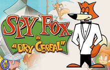 Spy Fox in Dry Cereal Badge