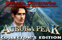 Strange Discoveries: Aurora Peak Collector's Edition Badge
