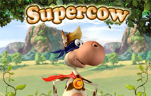 Supercow Badge