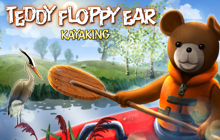 Teddy Floppy Ear - Kayaking Badge