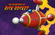 The Adventures of Rick Rocket Badge